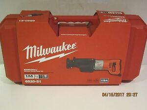 Milwaukee 6520 21 >> Milwaukee 6520 21 13 Amp Orbital Sawzall Reciprocating Saw W Case