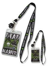 **License** Black Rock Shooter Dead Master Badge ID Holder Lanyard #37515
