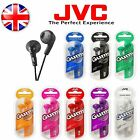 JVC HA-F160 Gummy Bass Boost Stereo Headphone Earphones for MP3/iPod/ iPhone