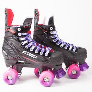 2018 Model Sims Street Snakes NS Bauer Quad Roller Skates
