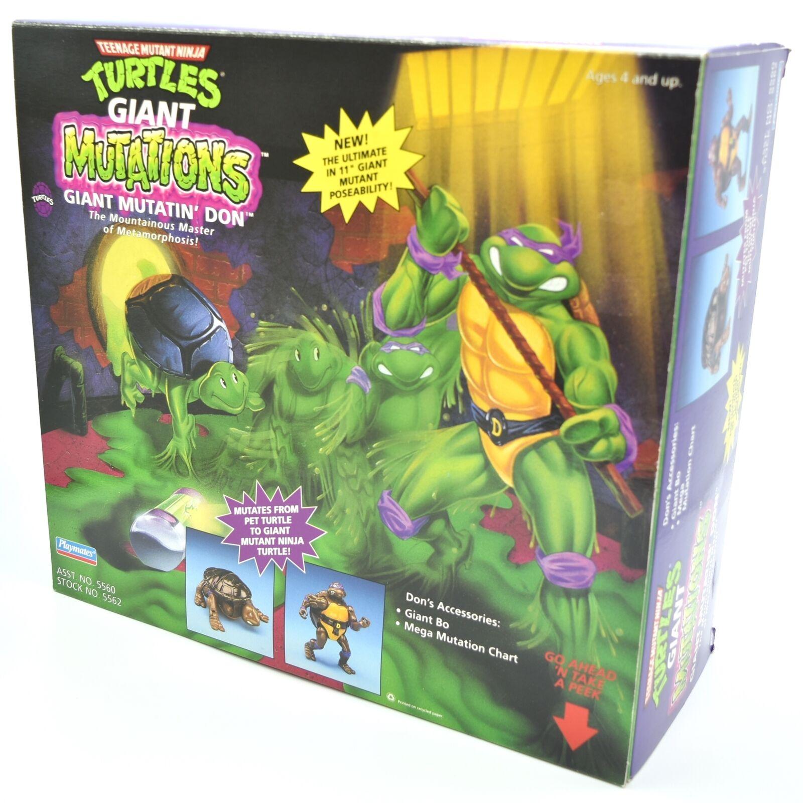 Teenage Mutant Ninja Turtles TMNT Giant Donatello Vintage Figure Rare Collector