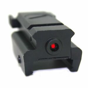 Red Dot Laser sight Tactical 20mm picatinny Weaver rail Mount Pistol Gun Rifle
