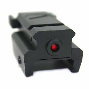 Red Laser Sight 20mm Weaver Tactical Low Profile Compact