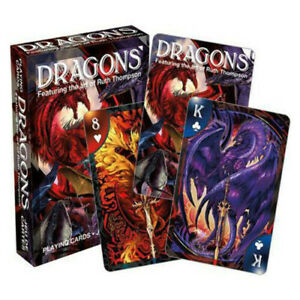 Aquarius-Officially-Licensed-Ruth-Thompson-Dragons-Designed-Fun-Playing-Cards