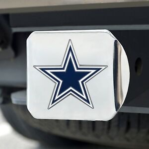 Dallas-Cowboys-Heavy-Duty-3-D-Color-Emblem-Chrome-Metal-Hitch-Cover