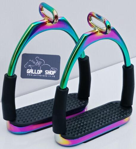 Gallop Shop Offset Stirrups Horse Riding Stirrups