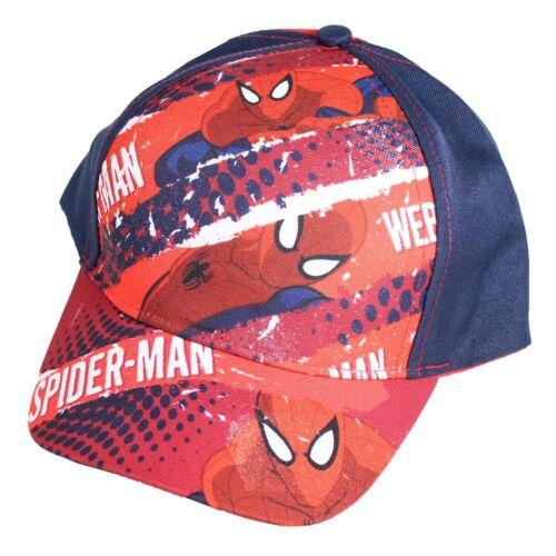 Marvel Spiderman Official Summer Baseball Cap Hat Size 52 Navy
