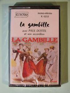 K7-Audio-La-Gambille-avec-Paul-Dottel-amp-son-accordeon-neuf-sous-blister