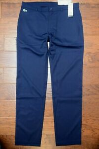 Lacoste Sport HH1624 Men's Water Repellent Stretch Poly Golf Pants 40 EU 50
