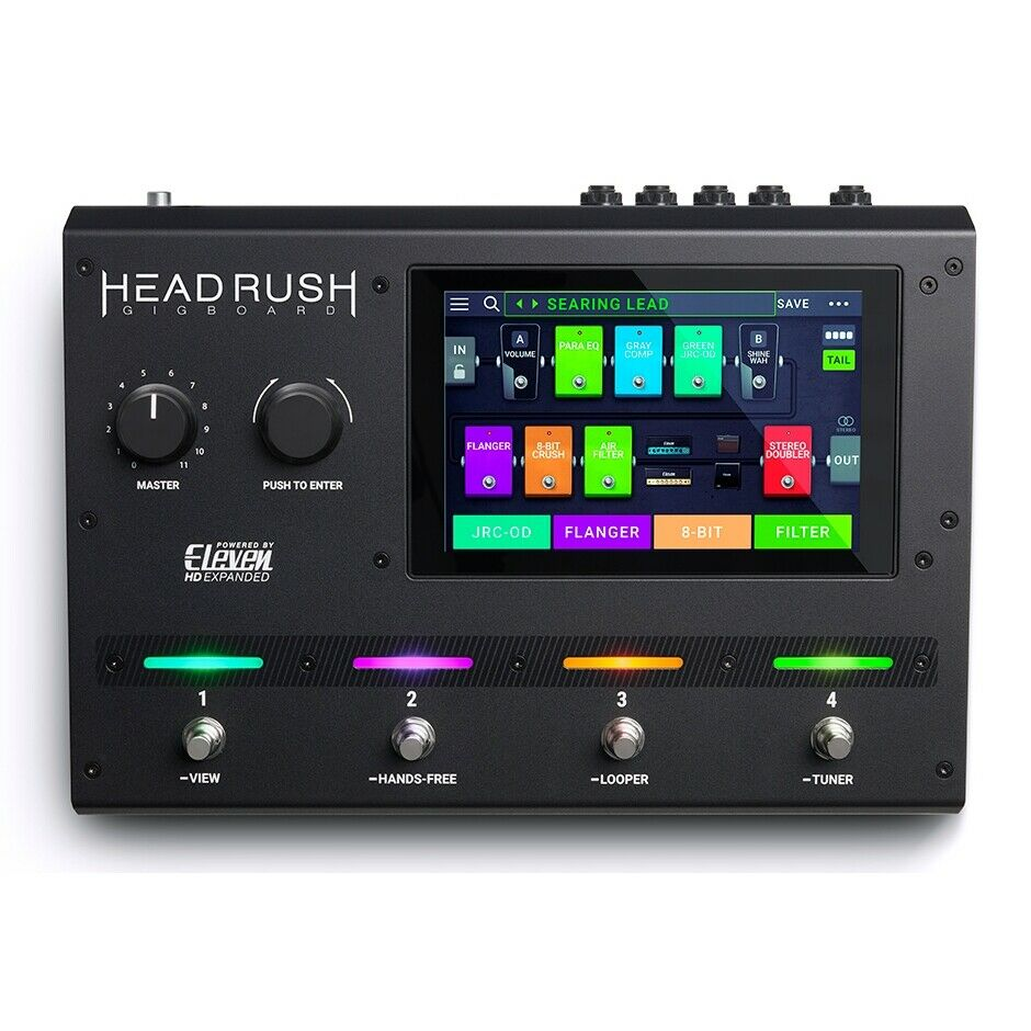 HeadRush Gigboard Guitar Effects and Amp Modelling Processor