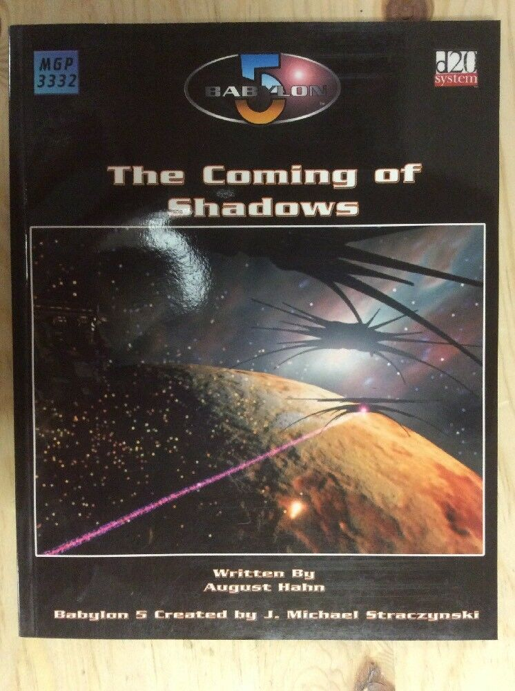 Babylon 5 Coming of the Shadows (2003, Game)