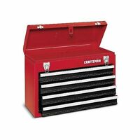 Craftsman 4 Drawer Portable Tool Box In Red Free Shipping Brand