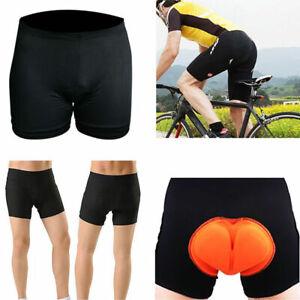 Men 3D Gel Padded Bicycle Cycling Bike Underwear Short Pants Riding Shorts US