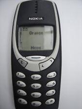 UNLOCKED MINT NOKIA 3310 MOBILE PHONE FULLY REFURBISHED 6 MONTH WARRANTY