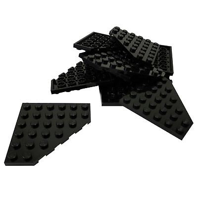 Lego 6x6 Plate Black Lot of 2 New
