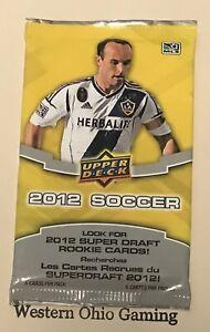 2012-Upper-Deck-Soccer-Pack-NEW-MLS-Football-Sports