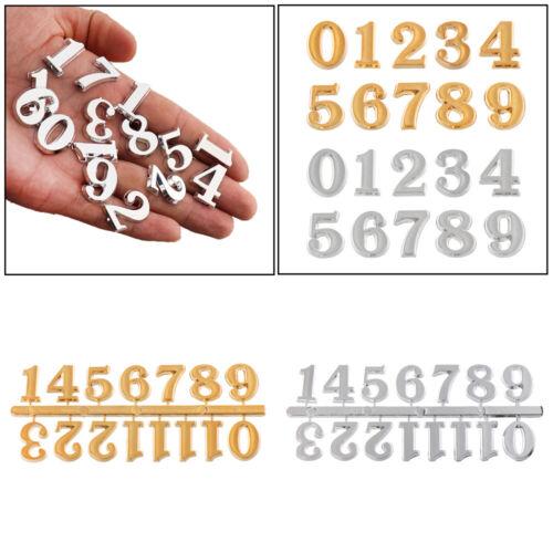 Digital Restore Clock Numerals Arabic Number Bell Accessories Clock Parts