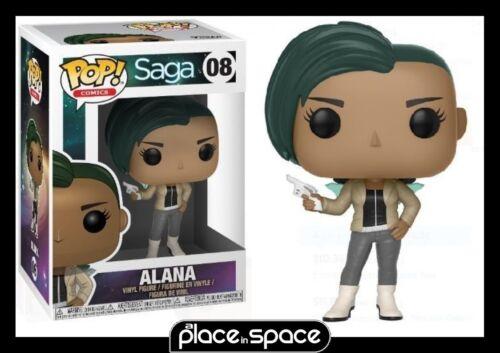 ALANA W// GUN FUNKO POP VINYL FIGURE #008 SAGA