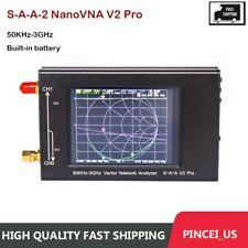 Hot Nanovna V Two Pro Vector Network Analyzer Vna Antenna Analyzer 50khz 3ghz