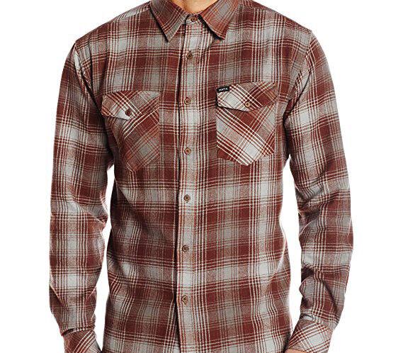 MATIX Scheme Flannel Shirt (M) Oxblood