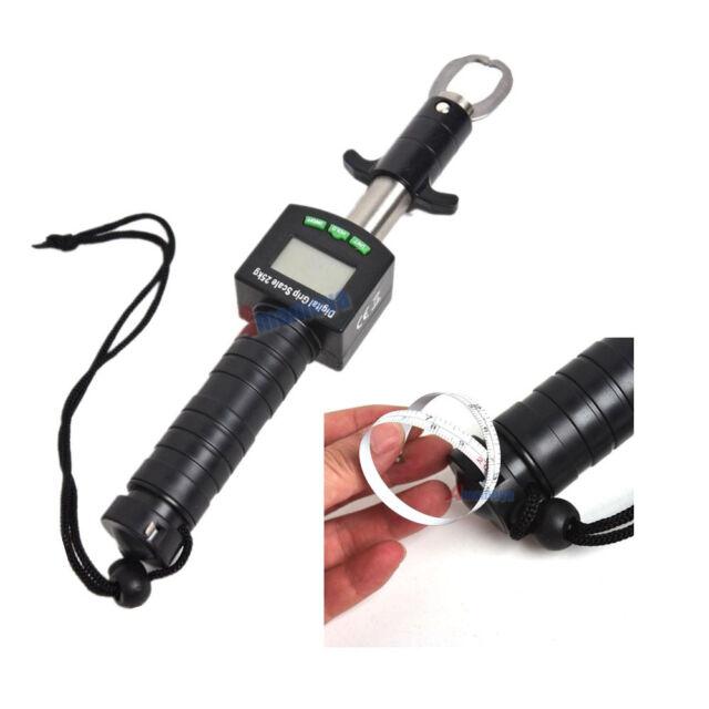 3in1 Fishing Grip Fish Lip Tackle Gripper Grabber Tool+25kg//55lb Digital Scale
