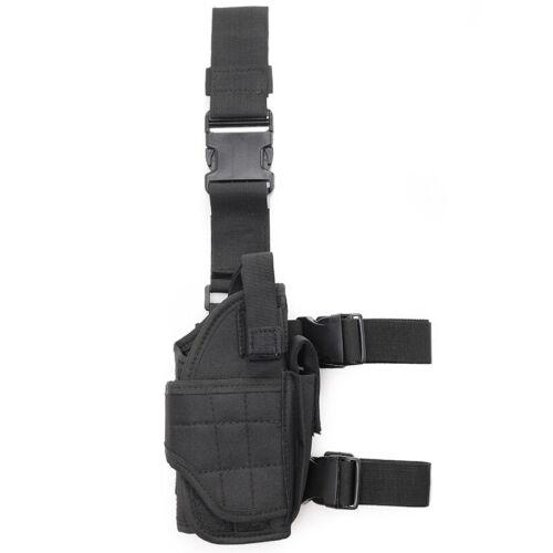 Left Tactical Hand Gun Drop Leg Thigh Pistol Adjustable Handgun Holster Right