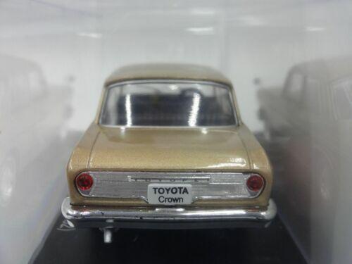 Toyota Toyopet Crown 1962 1//43 Scale Box Mini Car Display Diecast Vol 148
