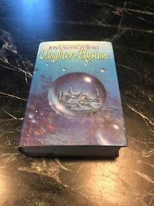 1993-Daughter-Elysium-Joan-Slonczewski-1st-Ed-Book-Rare-Signed-Sci-Fi-HC-DJ-SF