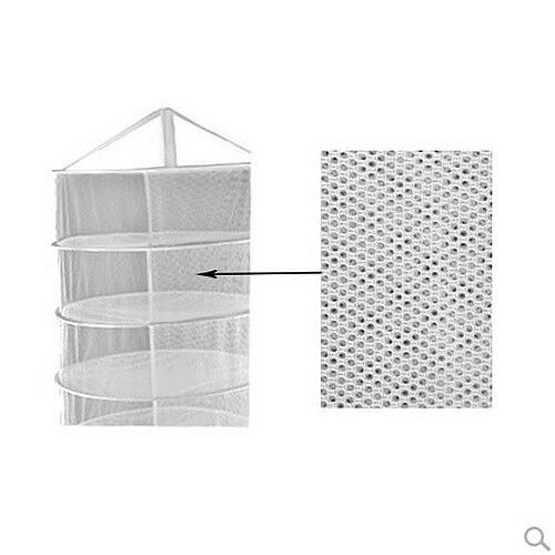 Collapsible Dry Net Horticulture 2ft 8Layer Hydroponic Herbal Drying Rack Drynet