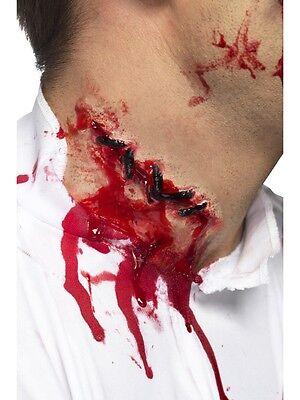 Affidabile Halloween Stitches Cicatrice In Lattice Con Colla Grande Divertimento