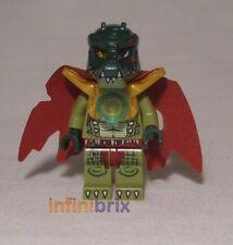 Lego Cragger from sets 70006, 70115 + 70014 Chima Crocodile Tribe NEW loc024