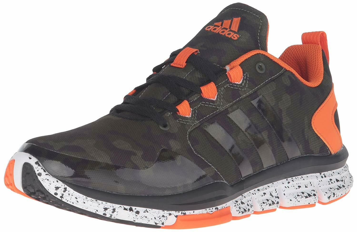 ADIDAS MENS PERFORMANCE SPEED 2 CROSS TRAINER SNEAKERS D70240 CAMO ORG