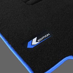 4 Tapis Sol Moquette Logo Edition Bleu Specifique Vw Golf 3 2 0 Gl
