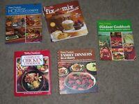 Lot of 5 Hardcover Betty Crocker Cookbooks