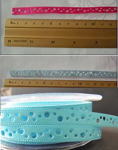 1-Meter-Borduere-selbstklebend-Basteln-Dekoration-Hobby-Motiv-Lochband