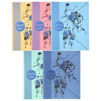 Mead 2-pocket Folders, Color Talk Pee Chee Portfolio, Assorted Colors, 5-pack (7