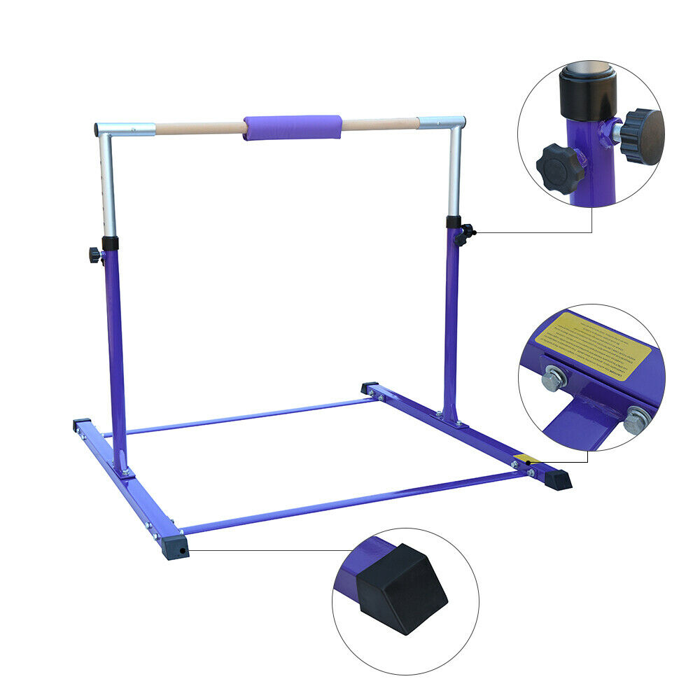 Gymnastische High Bar Kinds Balans Home Sport Training Equipmannent Unëven Bars 352;