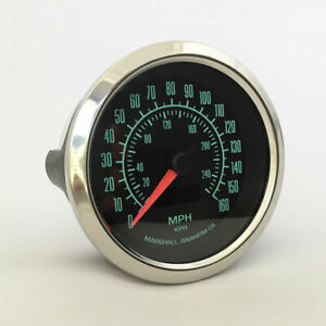 Marshall-C2-60s-Muscle-3-3-8-034-Electronic-Speedometer-2952SS-Stainless-Bezel