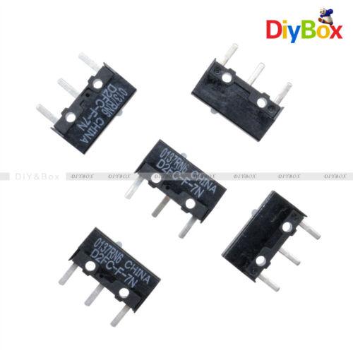 5PCS D2FC-F-7N Micro Switch Microswitch for APPLE RAZER Logitech Mouse