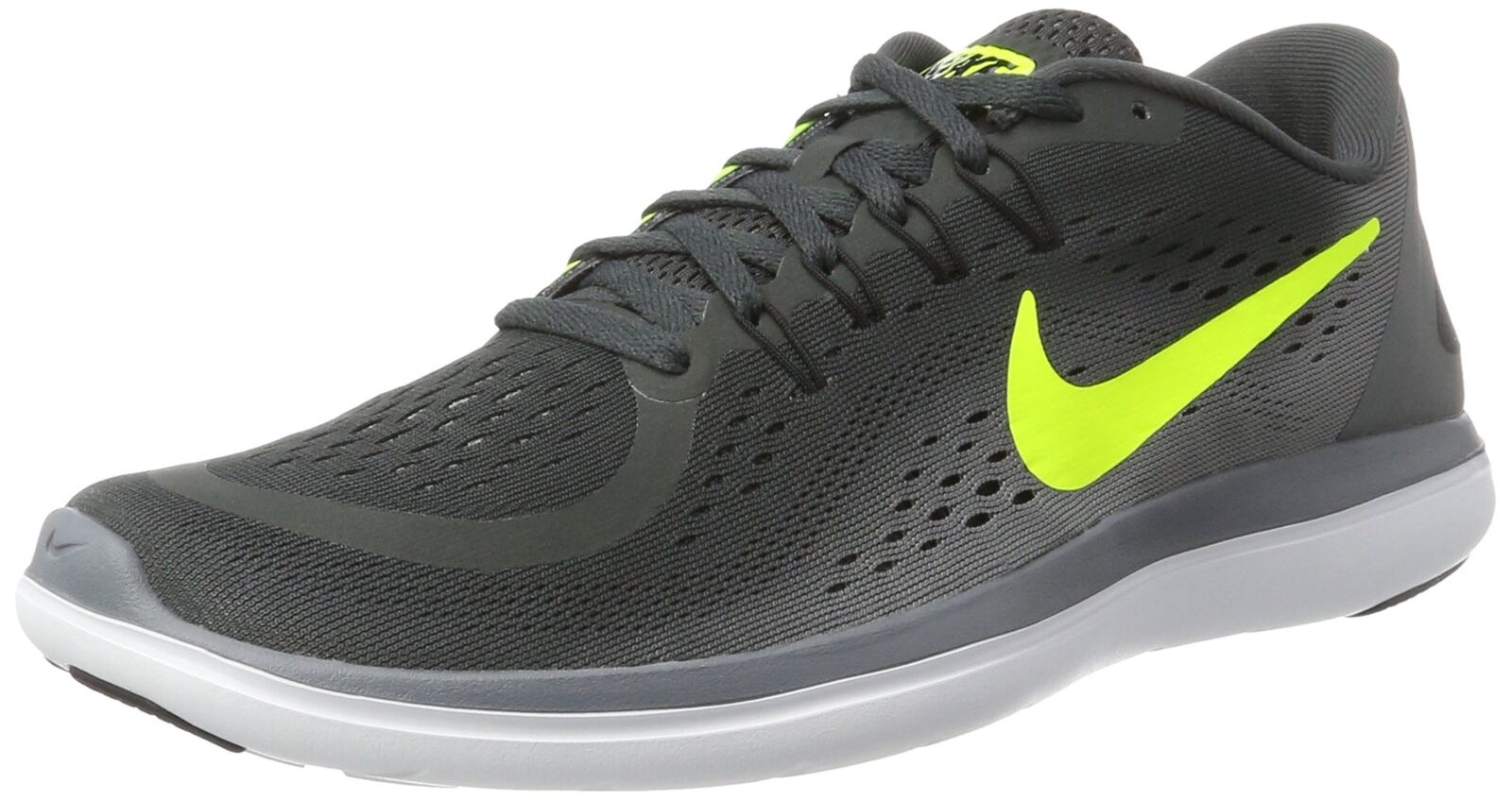 NIKE Men's Flex 2017 RN Anthracite/Volt/Cool Grey/Black US 10.5 D(M) US Grey/Black 6e79aa