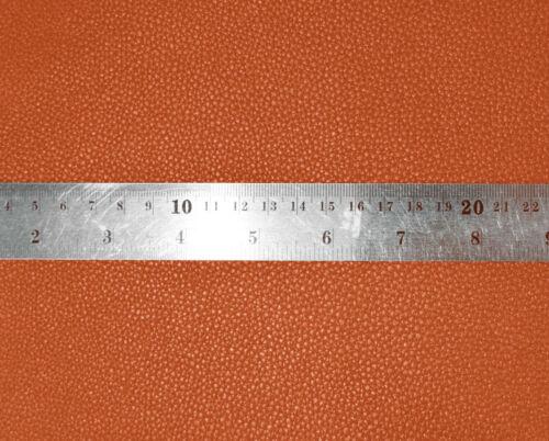 Pb317a Orange-Brown Faux Leather Skin PU Cushion Cover//Pillow Case *Custom Size*