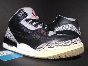 Cemento Iii Fuego Mostrar Retro 136064 010 Acerca Rojo Blanco 9 Air Detalles Gris Título Nike Jordan De Negro 5 3 Original EDH9e2YWI
