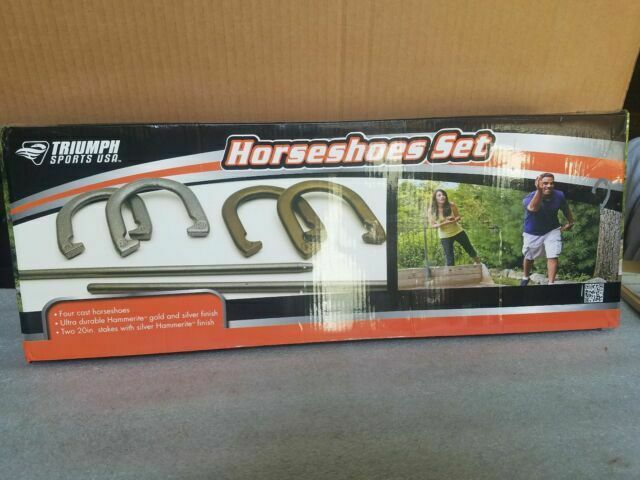 Triumph Sports Usa Beginner Cast Horseshoe Set For Sale Online Ebay
