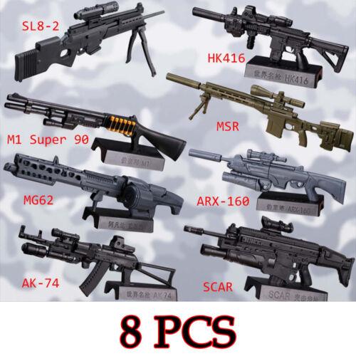"1:6 1//6 Scale Machine Gun Sniper Rifle AK47 Weapon Model Fit 12/"" Action Figure"