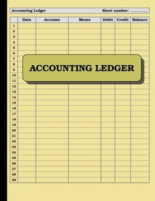 account book journal 120 pages ledger record keeping home