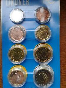 pays-bas 2011 série 8 pièces neuves sous capsules