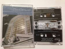 AGATHA CHRISTIE Twin Cassette Audio Book AT BERTRAM'S HOTEL Read by DAVID TIMSON
