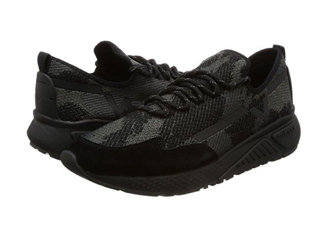 DIESEL Y01534 P1349 T8013 SKB S-KBY Mn's (M) Black Textile Lifestyle shoes