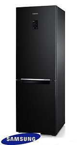 Samsung Frigorifero No Frost 185cm. Frigo-Freezer Combinato Nero ...