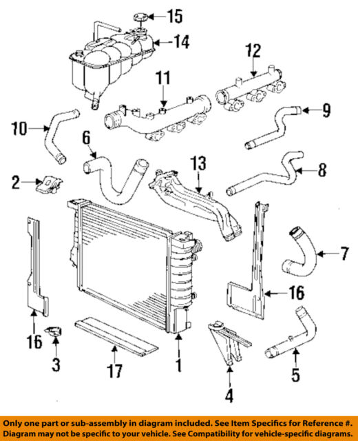 Bmw Cooling System Radiator E34 Ebayrhebay: E34 Bmw Fan Switch Wiring Diagram At Gmaili.net